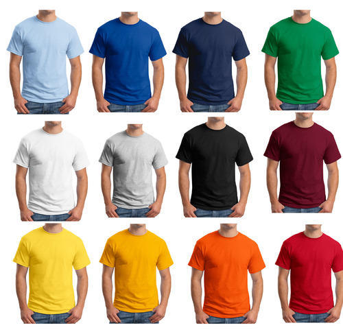 6a9fd58ee740 Quality 100% Cotton Round Neck T-Shirts, पुरुषों की गोल ...