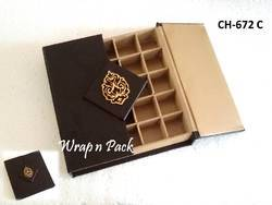 Leather Gift Box For Chocolate, Brownies