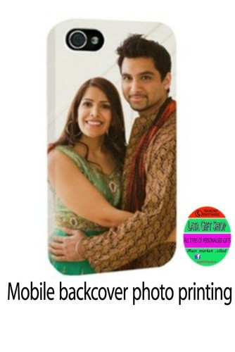 half off b318f 62e75 Mobile Back Cover With Customized Photo