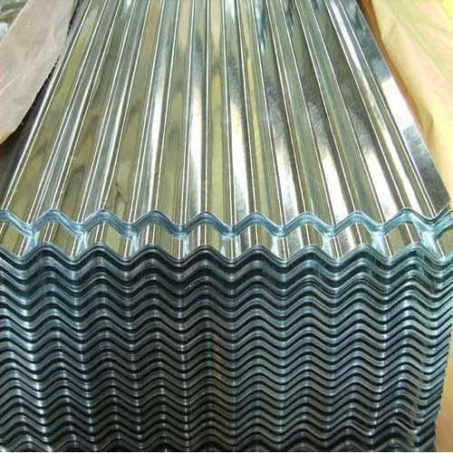 Steel / Stainless Steel Galvanized Corrugated Sheets
