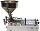 Table Type Double Head Paste Filling Machine