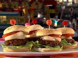 Double Veg Burger