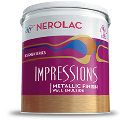 Impressions Metallic Finish Paint