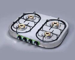High Thermal Efficient LPG Stoves Four Burner