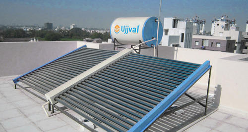 Manifold Type Solar Water Heater Systems - Ujjval Solar Evershine ...