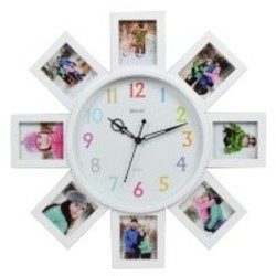 Steven Quartz Photo Frame Clock