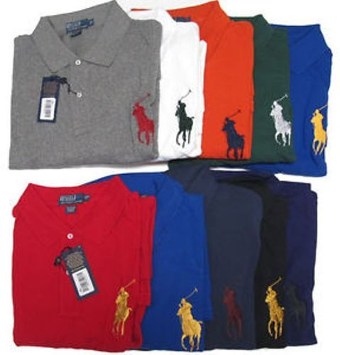 Men  s RL Big Pony Polo T Shirt 30ecdec81