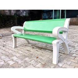 Cement Colorful Bench