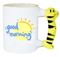 Dass Gifting Creations Animal Handle Mug, For Home