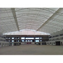 White Auditorium Roof