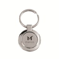 Stainless Steel Silver Marico Keychains
