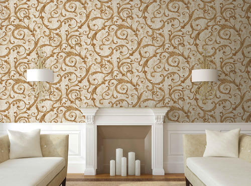 Beau Wallpaper For Drawing Room