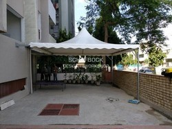 Foldable Gazebo Tensile Structure