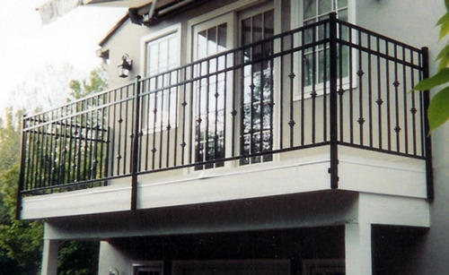 MS Industrial Railing Fabrication Services