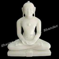 Lord Mahaveer Marble Sculpture