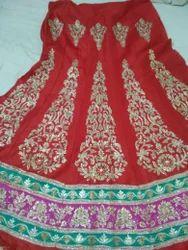 Zari Hand Embroidered Lehnga