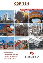 CORTEN STEEL / CARBON STEEL / S.S. ERW APH / HEAT EXCHANGER TUBES & CARBON STEEL / ALLOY STEEL
