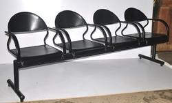 Four Seater Reception Waiting Area Chairs