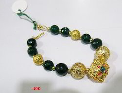 Beaded Bracelet With Gold Beads