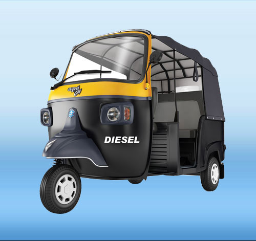Piaggio 3 Wheeler, Usage : Passenger, Rs 135000 /piece, Dolphin ...