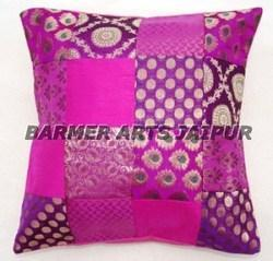 CUSHION COVER JACQUARD PATCHWORK