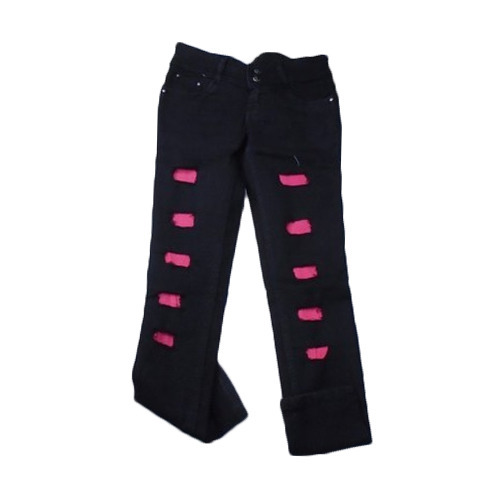 c39a8c99587bfe Ladies Black Damage Jeans at Rs 240 /piece | Karol Bagh | New Delhi ...