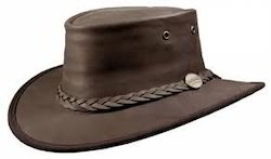 Standard Mens Leather Hat