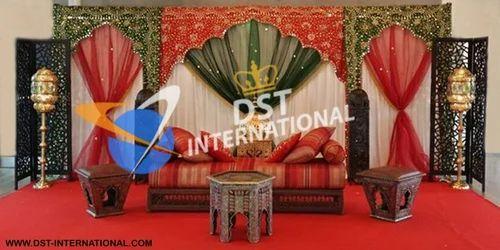 Pakistani wedding Mehndi Stage Backdrop , DST International