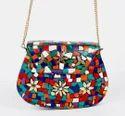 Urban Stitch Handmade Mosiac Metal Bag, Size: 3 Sizes-7*5, 7.5*5.5, 8*6