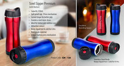 steel sipper premium