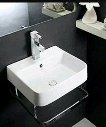 Ceramic Plain Hindware Wash Basin