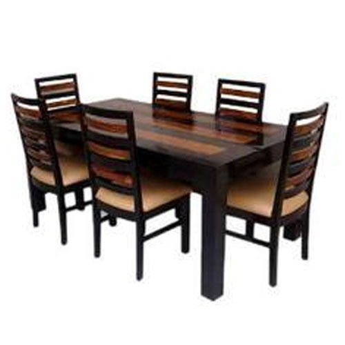 Six Seater Dining Table With 5 Years Warranty At Rs 25000