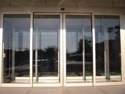 Dowell Aluminium, Glass Aluminium Sliding Door, For Office