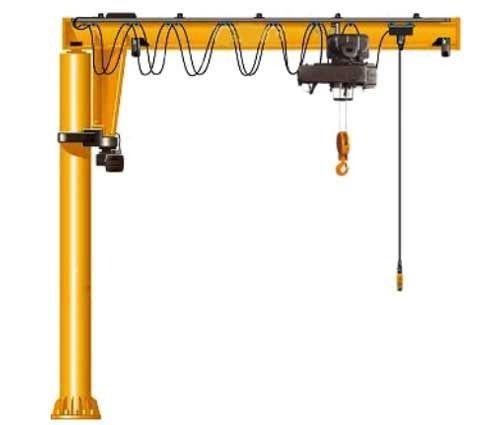 heavy pillar slewing jib crane