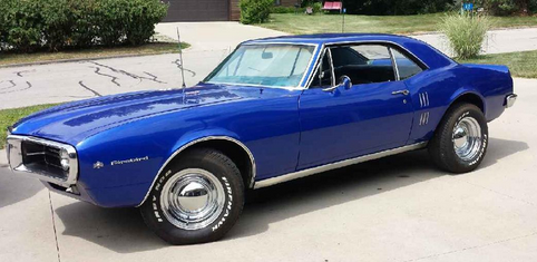 1967 Pontiac Firebird Car