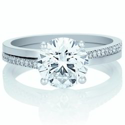 14K Certified Real Natural 1.00Ct Diamond Wedding Ring