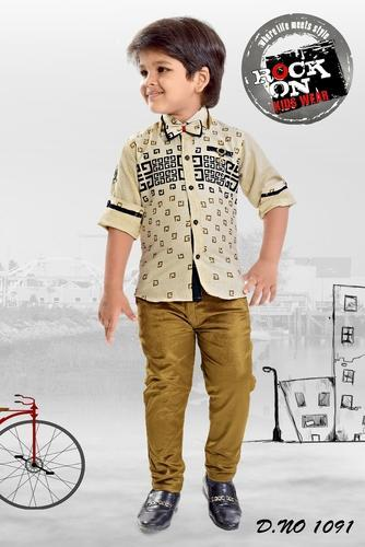 Boys Trouser And Shirt Stylish Kids Suit