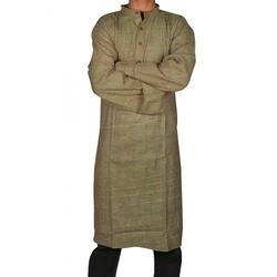 Mens Cotton Khadi Kurta
