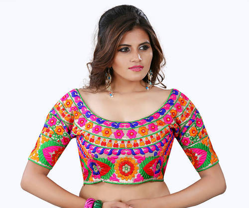 a6257dfcf9fd19 Multi Color Embroidery Blouse at Rs 450 /piece   Surat   Surat   ID ...
