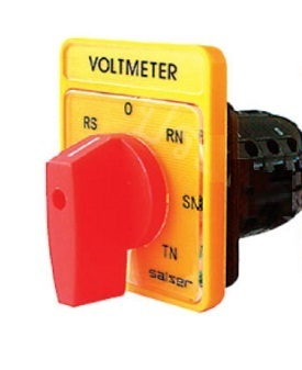 Salzer S6 6 A 3 Pole Voltmeter Selector Switch, 61313 on