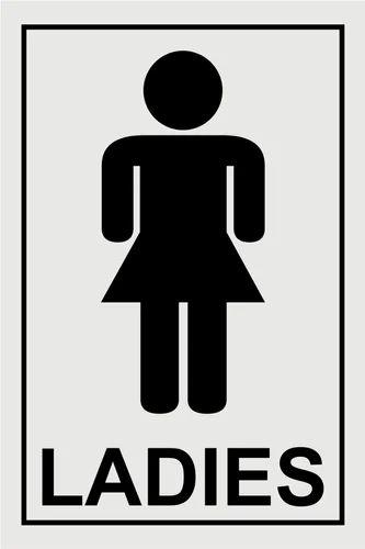 signage boards ladies washroom signage board wholesale