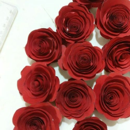 Heavenly Handcrafts Tiny Paper Rose