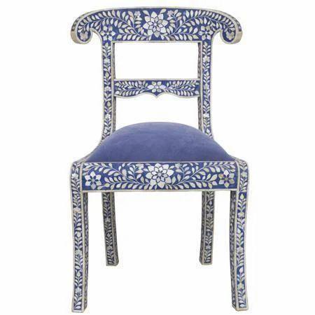 Charmant Bone Inlay Chair