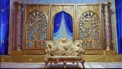 Mughal Jali Wedding Stage