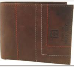 Male Swiss Military Men Leather Wallet, Card Slots: 5