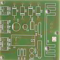 Ge-fr4 Single Sided Pcb