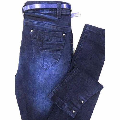 Ladies & Girls Jeans - Ladies Color Printed Jeans Manufacturer ...