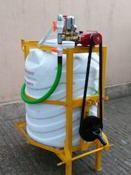 HTP Tractor Mounted Sprayer Machine, For Spraying