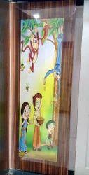 Wood Cartoon Lamination Door