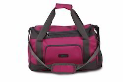 Pink & Grey Travel Bag with Wheels